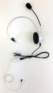 エンタープライズヘッドセット(携帯電話接続 EN-M・M20・VH-0201 超ミニ3極プラグと平型端子変換セット)